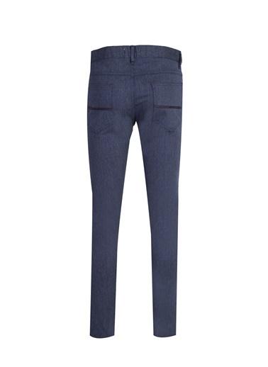 Kiğılı Jean Pantolon Füme